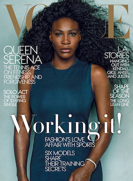 Serena Williams Vogue 2015
