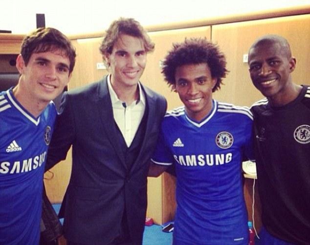 Nadal Meets Chelsea FC