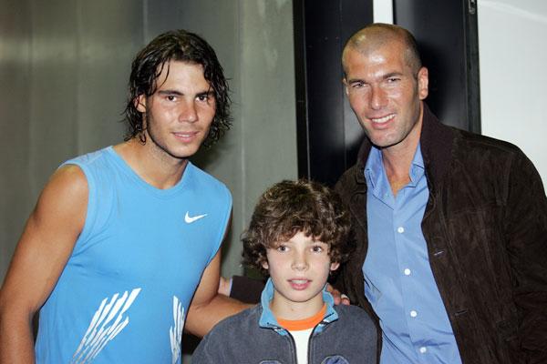 Nadal Meets Zidane